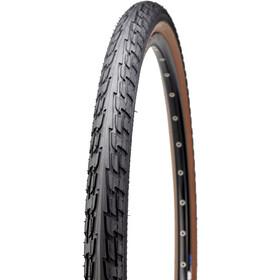 """Continental Ride Tour Clincher Tyre 26x1.75"""", czarny/brązowy"""